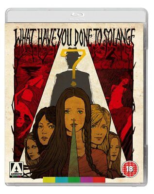 What Have You Done To Solange? [Dual Format Blu-Ray + DVD] (Blu-ray)