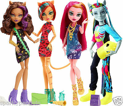 Monster High Doll Selection - Freaky Fusion / Field Trip - Brand New & Boxed