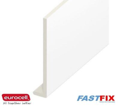 Fascia Capping Board 9mm 5M Length Eurocell UPVC White Various Sizes