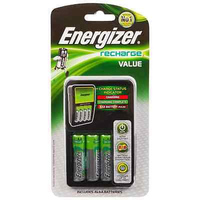 ENERGIZER Recharge Value Charger For AA, AAA Battery CHVCM4