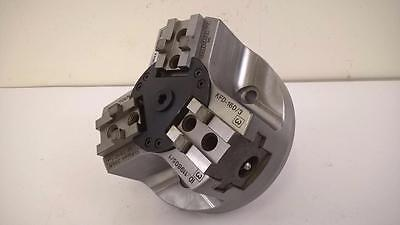 "Rohm KFD-160/3 Three Jaw Power Chuck Drawbar Type 160mm (6"") 4500 Rev Max ##"