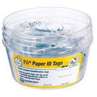 "HY-KO PROD CO #KB144-BKT 25PC 5PK1-1/4""Paper Tag,No KB144-BKT,  Hy-Ko Prod Co"