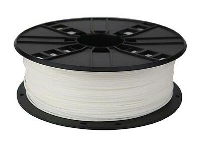 1x ABS (White) Filament suitable for all 3D Printers. Free Express Post