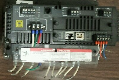 SQUARE D CM4000 POWERLOGIC CIRCUIT MONITOR 96mA