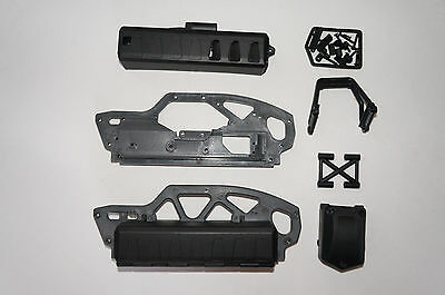 HPI SAVAGE XS SS FLUX Chassis Set inc battery box & other parts
