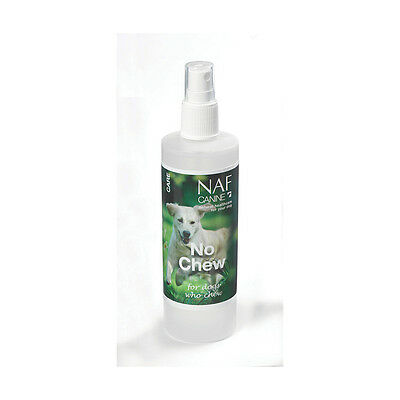 Naf No Chew for dogs and puppies Natural unpleasant tasting spray -FREE P&P