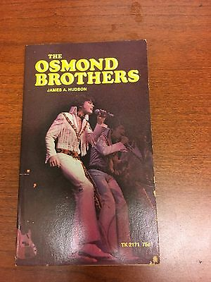 The Osmond Brothers James A. Hudson 1972 Paperback