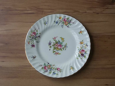 Vintage 1950s/1960s British Minton Bone China 23cms Plate - Marlow - VGC