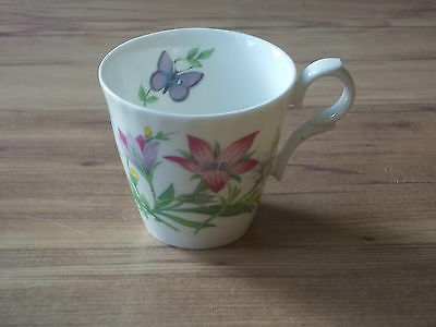Vintage 2002 Roy Kirkham Fine Bone China Conical Coffee/Tea Cup - English Flora