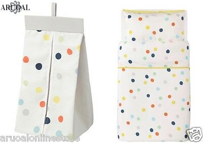 IKEA DRÖMLAND Nappy Stacker / Quilt Cover & Pillowcase Set DROMLAND