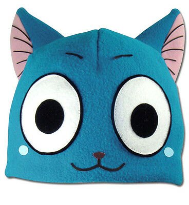 NEW Official Great Eastern GE-32197 Fairy Tail Series - Happy Fleece Cap Cosplay