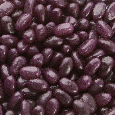 Jelly Bean Purple Grape Flavour 1kg Party Supplies Lolly Candy Buffet Not Belly