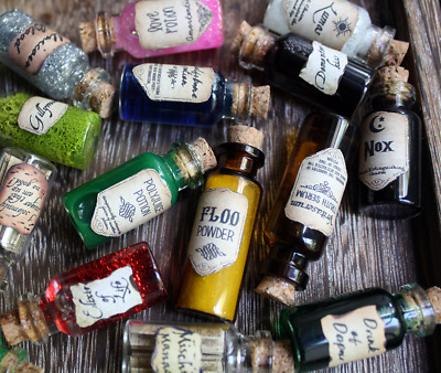 Harry Potter Magic Potion Bottle Necklaces