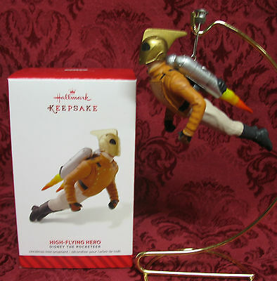 Hallmark 2014 Limited Ornament~The Rocketeer~High-Flying Hero