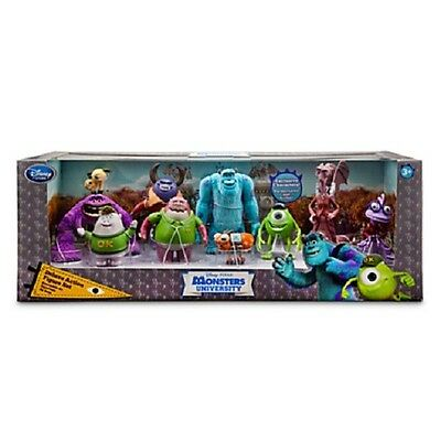 Disney Pixar Monsters University Deluxe Action Figure Set of 10 Figures NEW