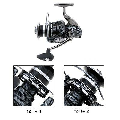 12+1BB Destra/sinistra frizione anteriore oversize Spinning Mulinello Reel T9K9