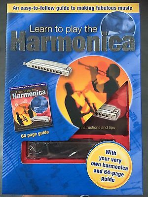 Learn To Play The Harmonica + includes your very own Harmonica!