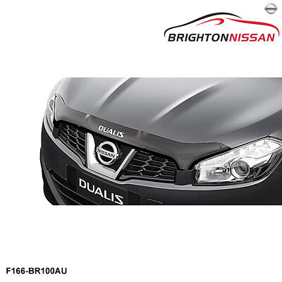 New Genuine Nissan Dualis J-10 Bonnet Protector, Smoked F5166BR100AU RRP $155