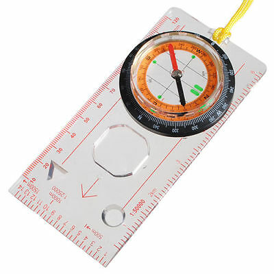 Outdoor Camping Hinking Survival Scouts Orienteering Compass Rule Base plate Map
