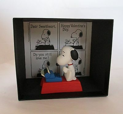 Snoopy Museum Tokyo Limited Scene Figures LOVE Resin W13×H11×D8.5cm New