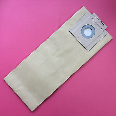 GENUINE KARCHER STRONG VACUUM CLEANER BAGS T7/1, T9/1 Bp, T10/1 Larger Bags