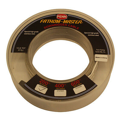 Penn Downrigger Cable Stainless Steel 200FT