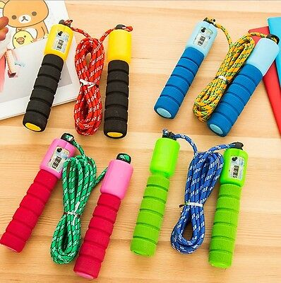 With Digital Counter Adjustable Skipping Rope 8.8FT Adult Boxing Exercise Jump 7