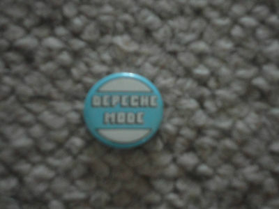DEPECHE MODE 80s NEW WAVE MUSIC PIN BADGE