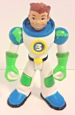 """Fisher Price Planet Heroes #3 Earth 5"""" Action Figure VGC"""