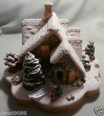 """Lilliput Lane - Musical  """"we Wish You A Merry Christmas"""" L3052 Mint In Box"""