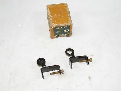 Stanley No 138 level sights in box (32165)