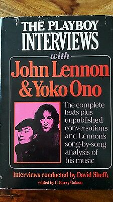 the playboy interviews with John Lennon (bookclub edition 1981)