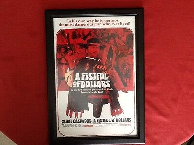 A Fistful Of Dollars Frame Poster