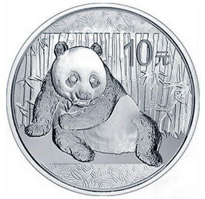 silver Gold Plated panda china coin medal 1 ounce oz hot