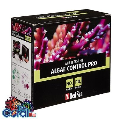 Red Sea Algae Control Pro Test Kit No3/po4 Nitrate/phosphate - Free Shipping