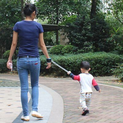 Toddlers Kids Walking Handle Anti-Lost Safety Harness Wrist Leash Walking Belt
