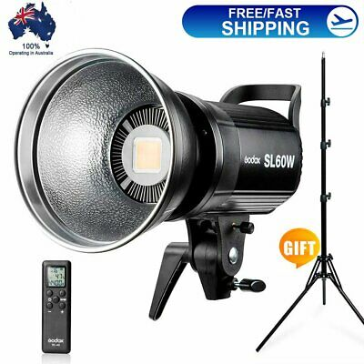 Godox SL-60W 5600K Studio LED Video Light Continuous Light with Remote Control