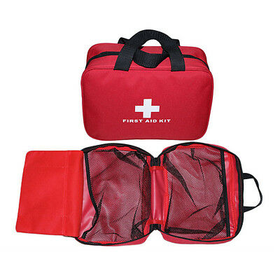 Outdoor Sports Camping Home Medical Emergency Survival First Aid Kit Bag UU
