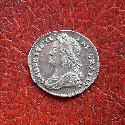 George II 1739 silver maundy penny