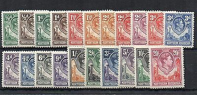 Northern Rhodesia 1938-52 set to 20s MH