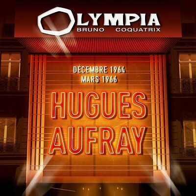 """CD """"HUGUES AUFRAY  - Olympia 1964 & 1966""""    NEUF SOUS BLISTER"""