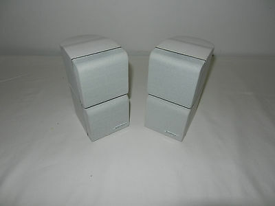 "BOSE Double Cube Speakers x2 ""GRAYLINE SERIES"" like the REDLINE Very Rare Model"
