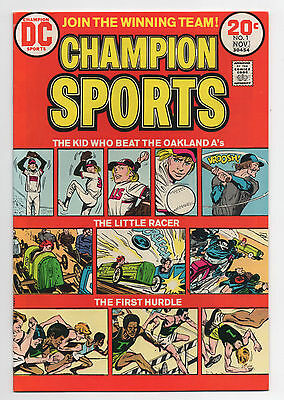 Dc Comics  Champion Sports  1  1973