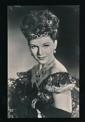 Film Theatre JEAN KENT personally SIGNED c1940s photo