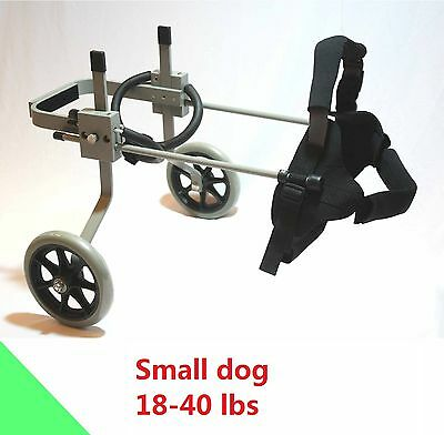 Dog Wheelchair, Small size dog approx. 18-40 lbs, Refurbished , ready to ship