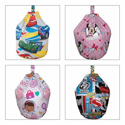 Girls and Boys Character Bean Bags - Many Designs from £10.95