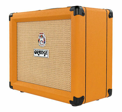 Orange Amplifiers Crush 20 20W Guitar Amp 2-Channel Combo with Reverb & Tuner