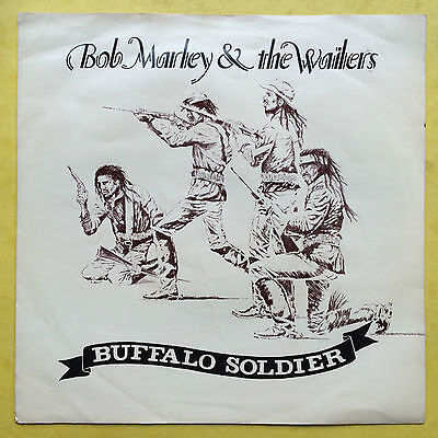 Bob Marley & The Wailers - Buffalo Soldier - Island IS-108 Ex Condition