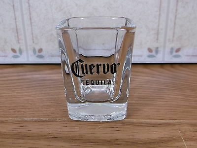 Collectible Cuervo Tequila Shot Glass Square