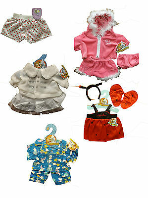 """16"""" build a bear fit teddy outfits free UK postage BNWT"""